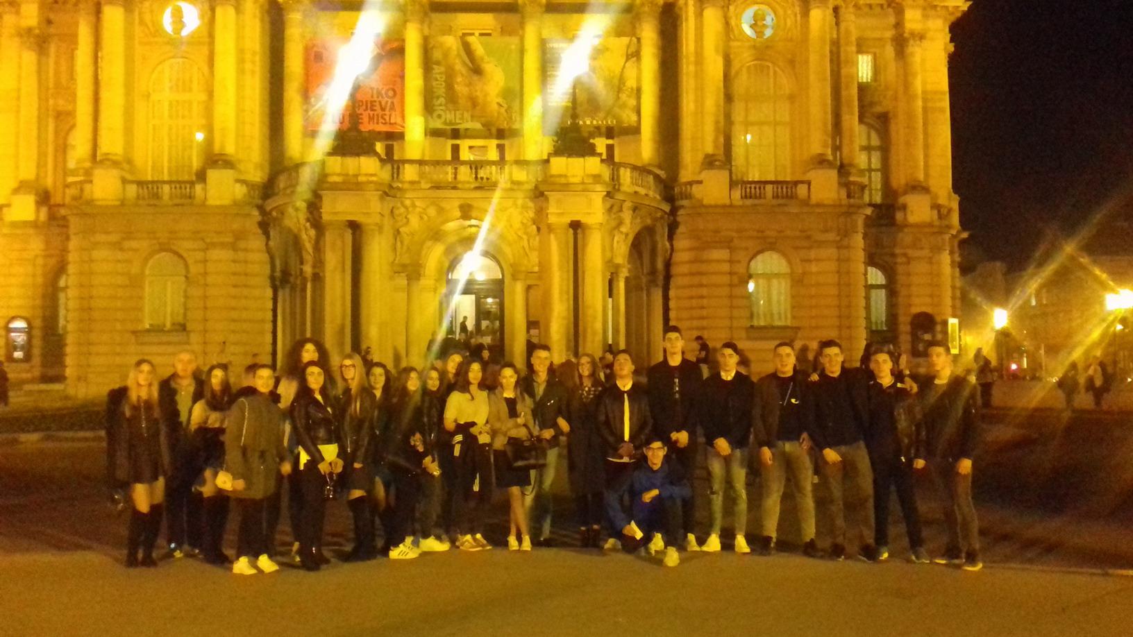 Večer za kazalište – posjet HNK-u, predstava Tri zime