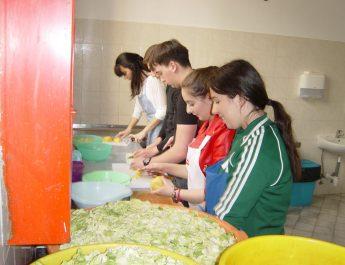 Dobrovoljni rad u Pučkoj kuhinji Misionarke ljubavi –Sestara Majke Terezije